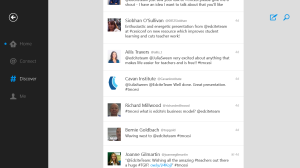 These are some of tweets from the conference showing teachers' excitement about Edcite.