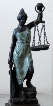 Pro and Con Statue