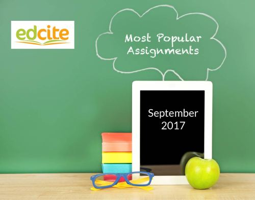 Most Popular Assignments - september-01